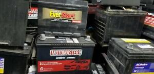 USED CAR-VAN-SUV BATTERIES | BOAT BATTERIES  FOR SALE STARTING PRICE FROM $40 CALL 905-660-0096 |