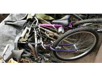 Job lot of 30 plus bikes and bike parts and wheels