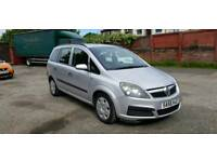 2006 Vauxhall Zafira 1.6 Petrol Manual 7 Seater Family Estate Cheap Bargain! Px Welcome