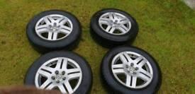 VW GOLF wheels & tyres