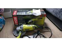 "9"" 2000w Angle Grinder with diamond disc used once"