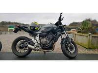 Yamaha MT07 ABS Matt Grey 2016