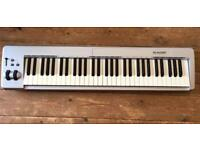 M Audio keystation 61 ES keyboard