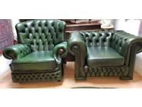 Lovely high bage armchair& club chair