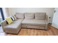 Corner Sofa : Ikea Friheten Corner Beige Sofa