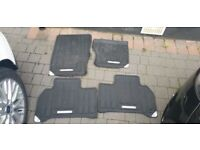 range rover sport car mats from 12 reg good condtion