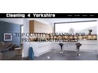 Cleaning 4 Yorkshire - Private and Business - 24/7 - you don't like to clean? We do it for you!