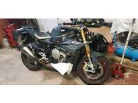 Bmw s1000r 2017 low mileage damage