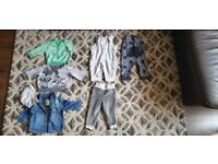 Boy toddler baby bundle clothes age 6-9 months