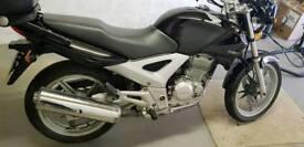 Honda CBF250 motorbike