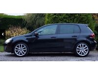 VW GOLF TDI AUTOMATIC DSG, BLACK, 2011 *LOW MILEAGE. AMAZING