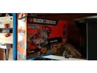 Black & Decker Cordless 18v 20cm Chainsaw Brand New In Box + Battery + Charger