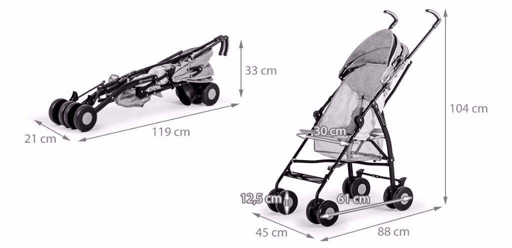 Kinderkraft Ivy Child Stroller Buggy Jogger Collapsible