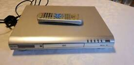FREE Bush silver DVD player with remote