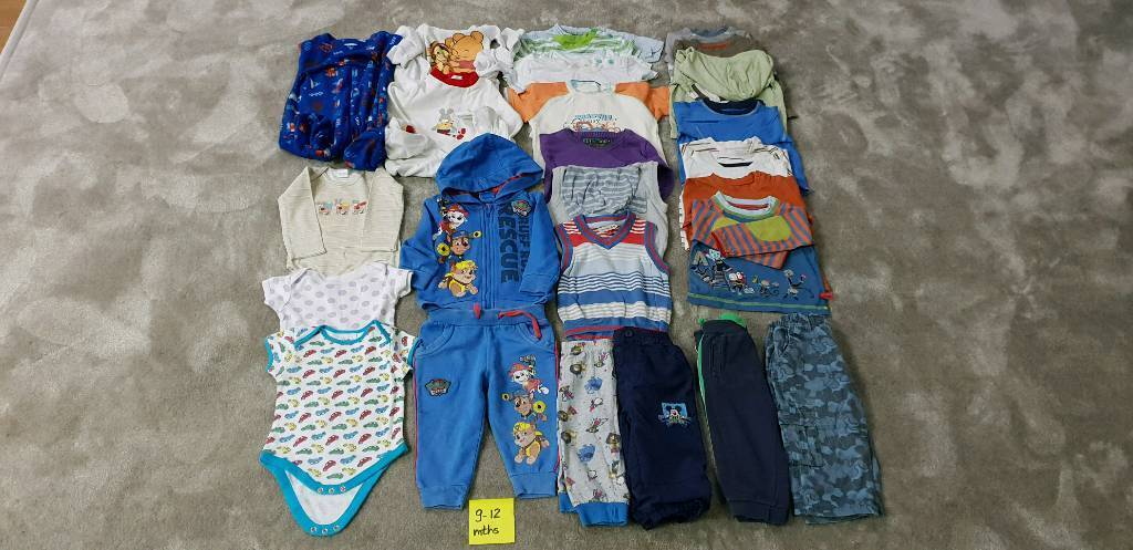 Baby Clothes Bundle Size 9 12 Months In Northampton