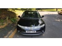 HONDA CIVIC SE I-CTDI,, 07 PLATE ,, 5 DOOR HATCHBACK,, £1700 call on 07969282764