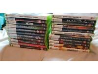 22 xbox 360 games bundle. All AAA titles no junk.