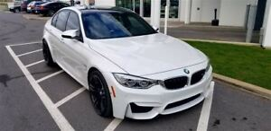 2016 BMW M3 M ADAPTIVE SUSPENSION, M PERFORMANCE EXHAUST