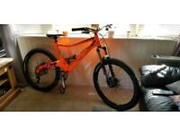 Orange Five / 5 Pro Full suspension mountain Bike Latest Hope Hubs