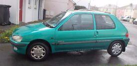 Peugeot 106 1.1 Green 1997 R Reg