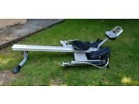 Hydraulic rowing machine
