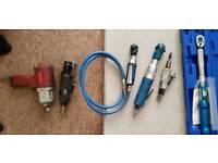Job lot air tools.