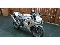 2004 Triumph Daytona 600, 20k, Silver, Portadown £2300