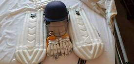 Boys cricket gear