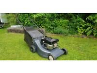 Honda petrol lawnmower mower