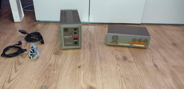 Quad 33 pre amp & 303 amplifier | in Hatfield, Hertfordshire | Gumtree
