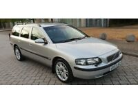 VOLVO V70 2.4 DIESEL AUTO ESTATE 7 SEATER WITH 2 BOOSTER SEATS