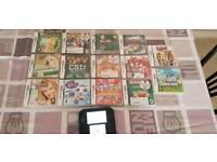 Nintendo 2ds + 14 games