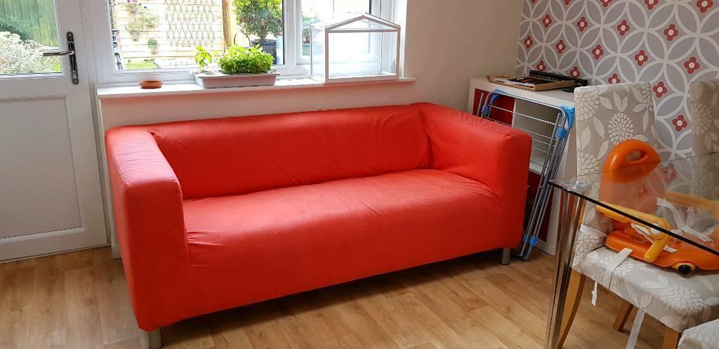 Incredible Red Klippan Ikea Sofa For Sale In Abingdon Oxfordshire Gumtree Frankydiablos Diy Chair Ideas Frankydiabloscom