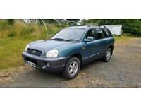 2002 Hyundai Santa fe 90,000 11 mot