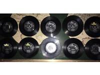 Beatles 45 lps x10