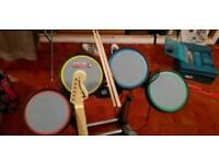 Xbox 360 Rock Band Instruments