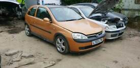 Breaking For Parts Vauxhall Corsa 1.8 Petrol