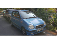 Hyundai Amica Automatic, needs gearbox, selling for spares, still runs