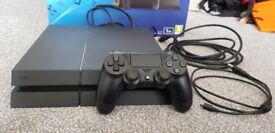 PlayStation 4 500GB PS4 with 4 Games