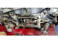 BMW X3 2015 complete subframe