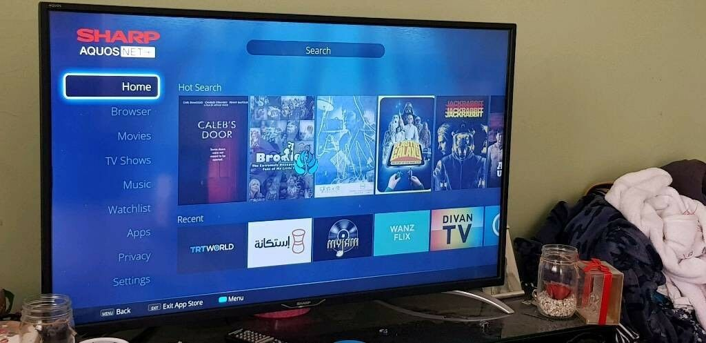"40"" sharp aquos smart tv | in Oval, London | Gumtree"
