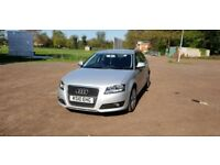 Audi A3 2.0 TDI 170bhp with cruise control and bluetooth