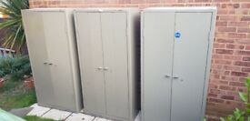 3x Vintage Industrial Metal Triumph Cabinets (£150 each)