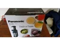 Panasonic MJ-L500 Slow Juicer BRAND NEW
