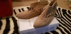Topshop ladies boots size 8