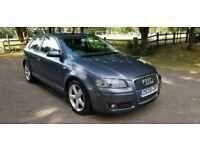 Audi A3 2.0 Tdi Sport Diesel 2008 3 Door Low Miles