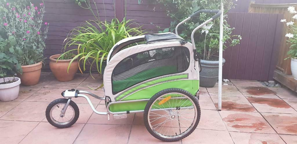 Papilio Argo Dog/child Bicycle trailer and stroller Cost £169 | in Carlton,  Nottinghamshire | Gumtree