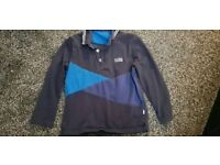 Hugo Boss long sleeve polo top 3-4 years