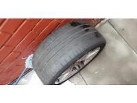 BMW 3 series tyres