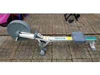 Delta air resistance rower